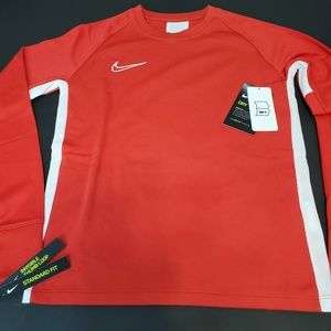 Nike Youth Academy Crow neck top long sleeve Sz M